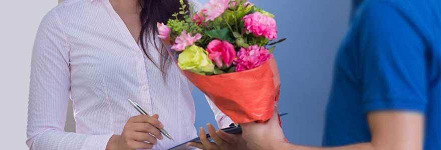Livraison de fleurs fraîches