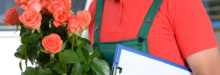 Livraison des fleurs à domicile