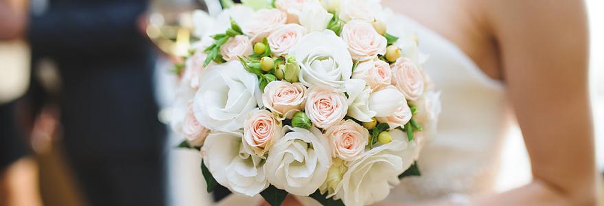 bouquet de fleurs pour un mariage